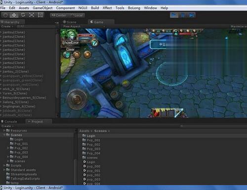 unity3D最后一战OL,手游源码/iOS/android/MOBA类全套完整源代码 + 视频架教程下载